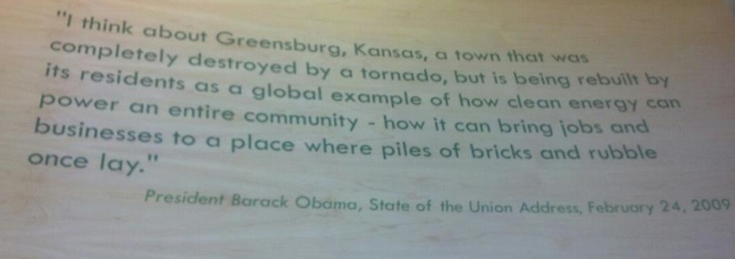 Obama greensburg