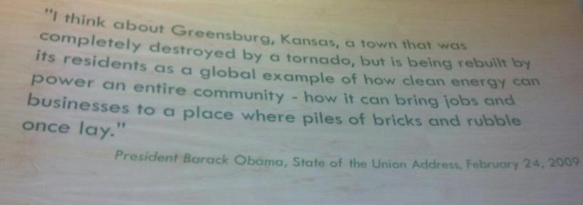 Obama greensburg